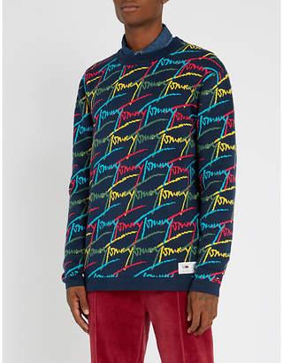 Tommy Jeans Logo-print crewneck jumper