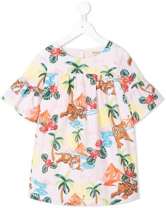 Kenzo jungle print dress