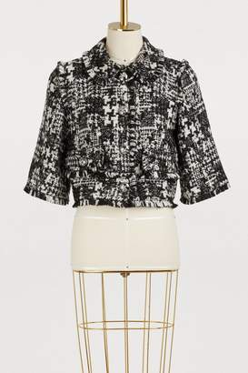 Dolce & Gabbana Short tweed jacket