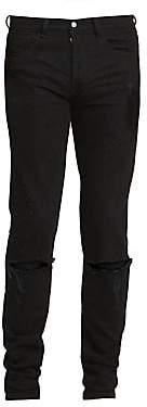 Givenchy Men's Distressed Stretch Jeans