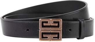 Givenchy Logo Buckle Belt