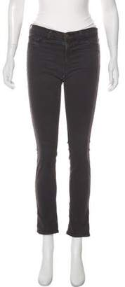 J Brand The Pencil Low-Rise Skinny Pants