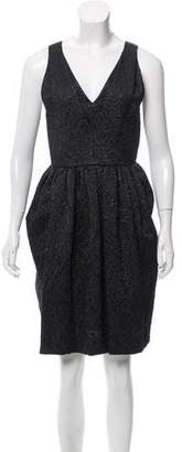 Balenciaga Matelassé Sleeveless Dress