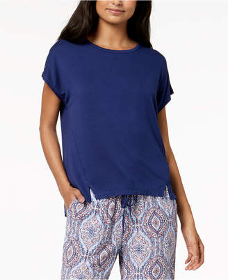 Alfani Solid Knit Sleep Top, Created for Macy's
