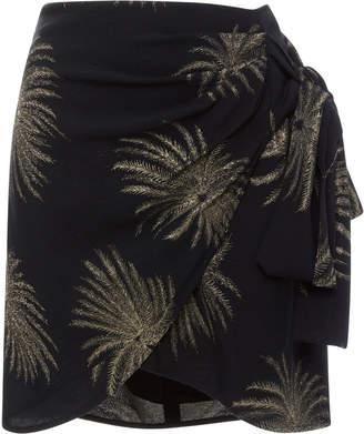 Victoria Beckham Victoria Side Tie Mini Skirt