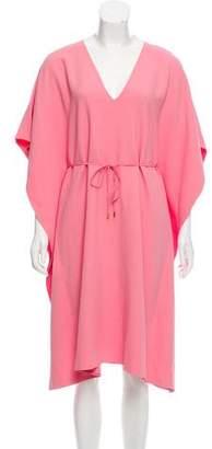 Calvin Klein Collection Oversize V-Neck Dress