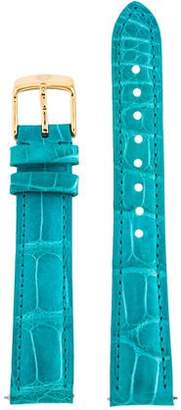 Michele 16mm Alligator Watch Strap