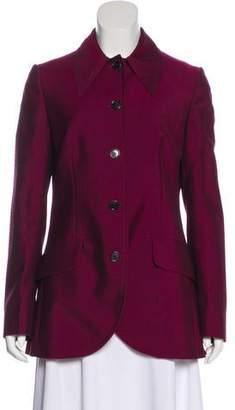 Miu Miu Structured Button-Up Jacket