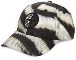 Stone Island Men's Patch Baseball Cap - Beige