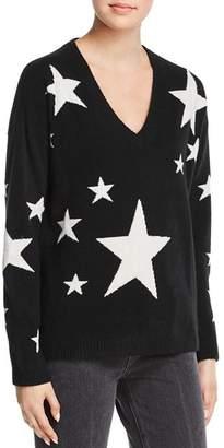 Minnie Rose Star Boyfriend Cashmere Sweater