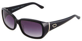 Oscar de la Renta O By Basic Rectangle Plastic Sunglasses