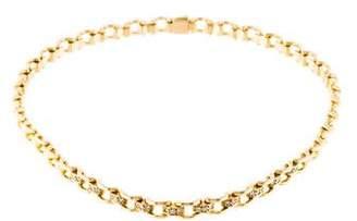 Mauboussin 18K Diamond Link Choker Necklace
