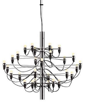 Design Within Reach Flos Model 2097 30 Chandelier, Silver at DWR