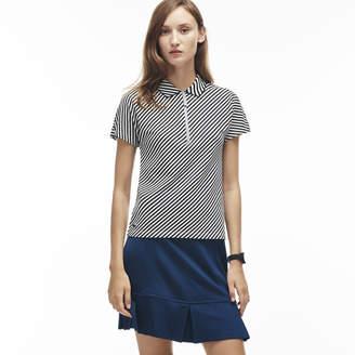 Lacoste (ラコステ) - ジップネックポロシャツ (半袖)