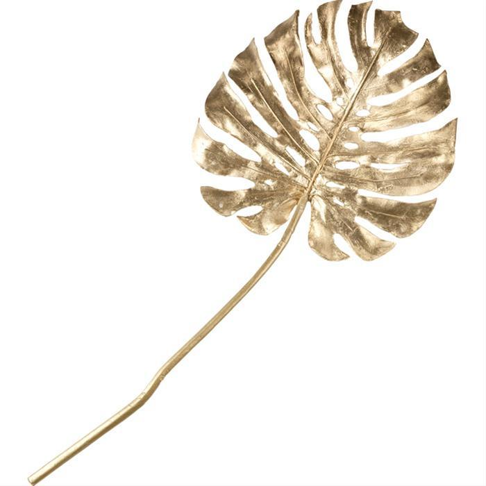 Gilded Monstera Leaves (Set of Six) by Tozai