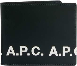 A.P.C. Aly Logo wallet