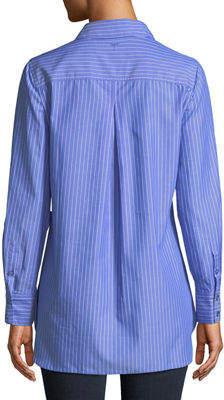 Tyler Boe Single Striped Cotton Work Shirt