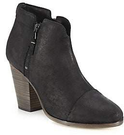 Rag & Bone Women's Margot Waxed Suede Ankle Boots