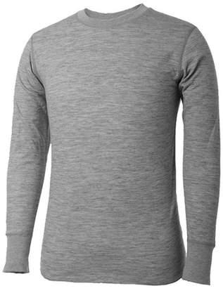 Asstd National Brand Terramar 2-Layer Merino Wool Crew Shirt - Tall