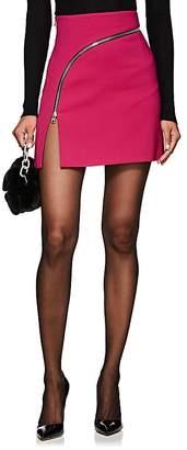 Alexander Wang Women's Zip-Detailed Twill Miniskirt