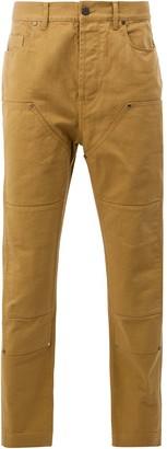 Lanvin panelled denim trousers