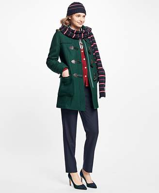 Wool Double-Faced Toggle Coat $398 thestylecure.com