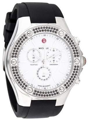 Michele Tahitian Chronograph Watch