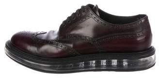 Prada Levitate Leather Oxfords