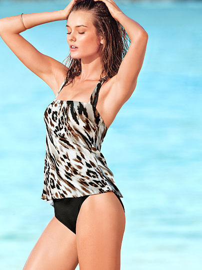 Magicsuit Square-neck Tankini