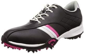 Callaway (キャロウェイ) - [キャロウェイ フットウェア] レディース ゴルフシューズ 軽量 (スニーカータイプ) [ 247-7983802 / URBAN AM ] ゴルフ 靴 010_ブラック 25 cm