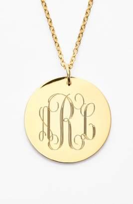 JANE BASCH DESIGNS Personalized Reversible Pendant Necklace