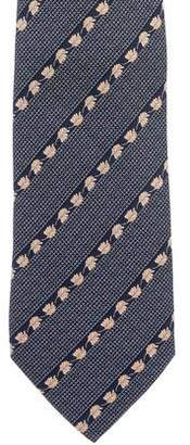 S.t. Dupont Silk Striped Tie