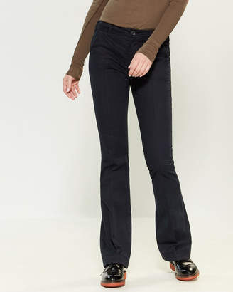 Hannes Roether Flat Front Dress Pants