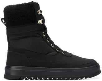 Emporio Armani Ea7 padded boots
