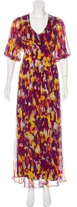 ADAM by Adam Lippes Silk Printed Dress