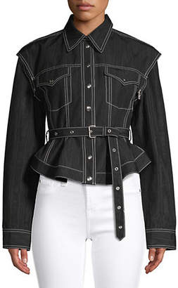 Marques Almeida Classic Belted Jacket