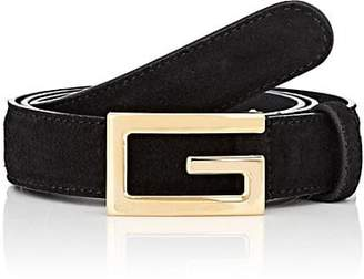Gucci Men's Suede Belt - Black