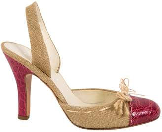 Prada Crocodile heels