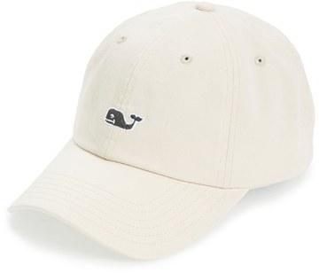 Men's Vineyard Vines Whale Logo Cap - Beige