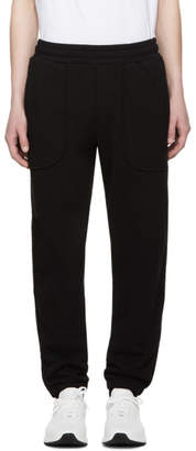 McQ Black Inside Out Lounge Pants