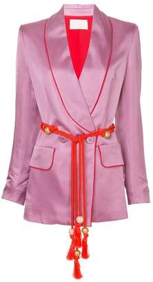 Peter Pilotto belted fitted jacket