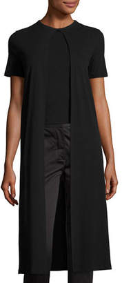 Rosetta Getty Long Layered Split-Panel T-Shirt