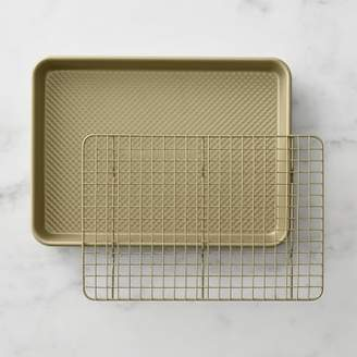 Williams-Sonoma Williams Sonoma Goldtouch® Nonstick Quarter Sheet Pan with Baking Rack