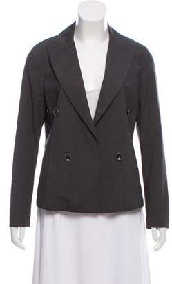 Eleventy Wool Double-Breasted Blazer