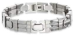 Lord & Taylor Stainless Steel Link Bracelet