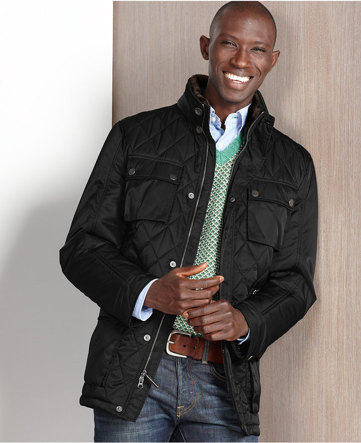 Hawke and Co. Outfitter Jacket, Laurent Quilted Safari Jacket