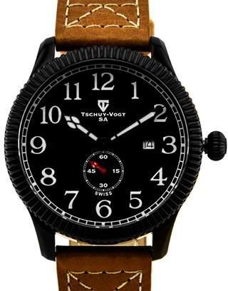 Tschuy-Vogt A24 Cavalier Men's Military Design Watch.