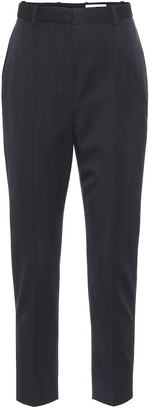 Alexander McQueen Virgin wool high-rise pants