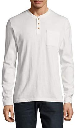 Esprit Long Sleeve Henley Button Tee
