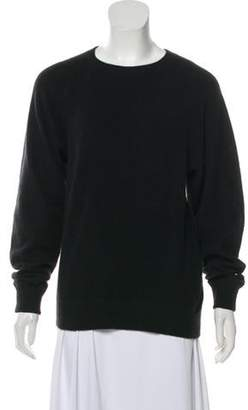 Alexander Wang Semi-Sheer Knit Sweater black Semi-Sheer Knit Sweater